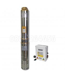 """Помпа водна дълбочинна за чиста вода 1.1kW 1.1/4"""" 80L/min 91m 14T RD-WP24"""