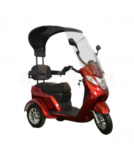 Електрическа триколка - скутер с покрив EGV 60V 1500W